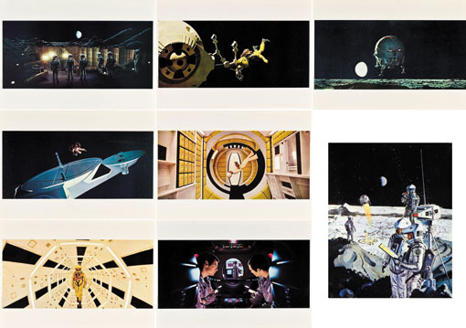 2001 A SPACE ODYSSEY (set of 8 lobbies)