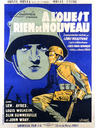 All Quiet On The Western Front by Lewis Milestone ()