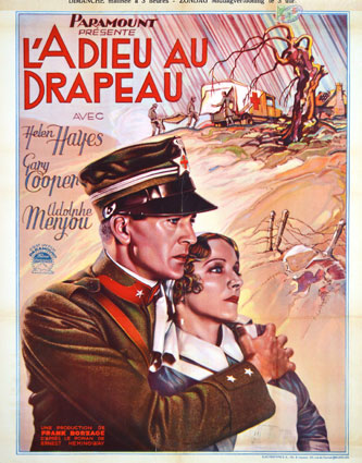 A Farewell To Arms by Frank Borzage (23 x 33 in)