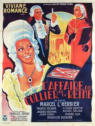 AFFAIRE DU COLLIER DE LA REINE (l')