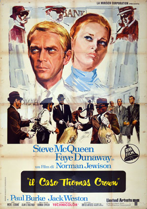 Affaire Thomas Crown par Norman Jewison