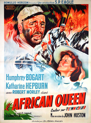 African Queen by John Huston