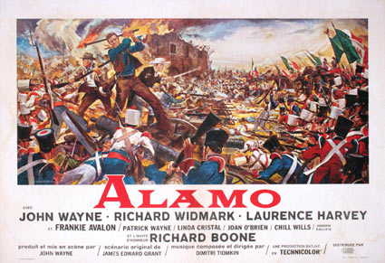 Alamo by John Wayne (17 x 23 in)