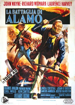 Alamo by John Wayne (55 x 78 in)