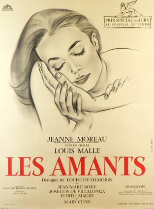 Amants (les) by Louis Malle (47 x 63 in)