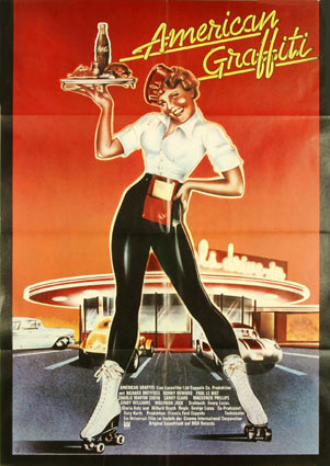 American Graffiti by Georges Lucas (23 x 33 in)