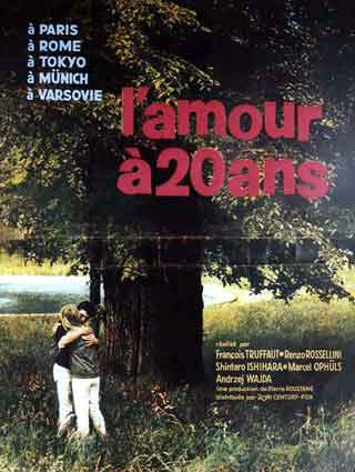 Amour A 20 Ans (l') by Francois Truffaut (17 x 23 in)