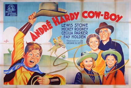 Out West With The Hardys by George B Seitz (63 x 94 in)