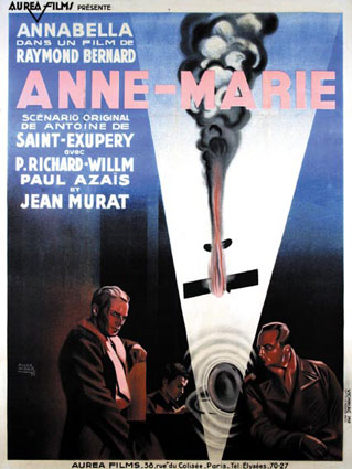 Anne Marie by Raymond Bernard (47 x 63 in)