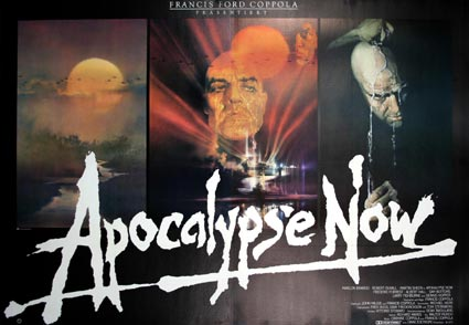 Apocalypse Now by Francis Ford Coppola (47 x 63 in)