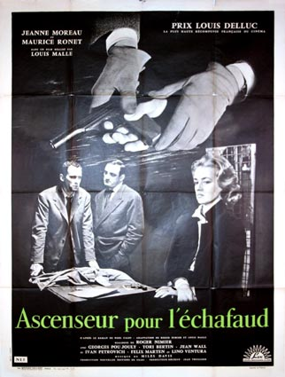 Ascenceur Pour L'echafaud by Louis Malle (47 x 63 in)