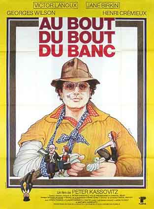 Au Bout Du Bout Du Banc by Peter Kassovitz (47 x 63 in)