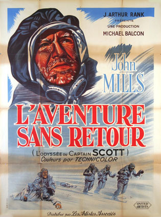 Scott Of The Antartic by Charles Fend (47 x 63 in)