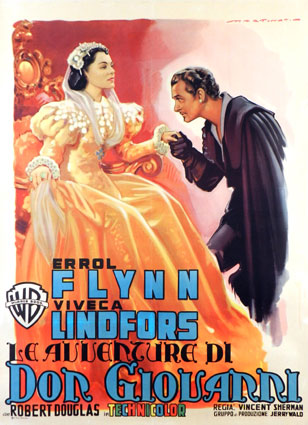 Adventures Of Don Juan by Vincent Sherman (39 x 55 in)