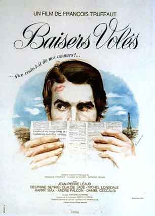Baisers Voles by Francois Truffaut (47 x 63 in)