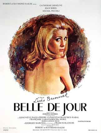 Belle De Jour by Luis Bunuel (23 x 33 in)
