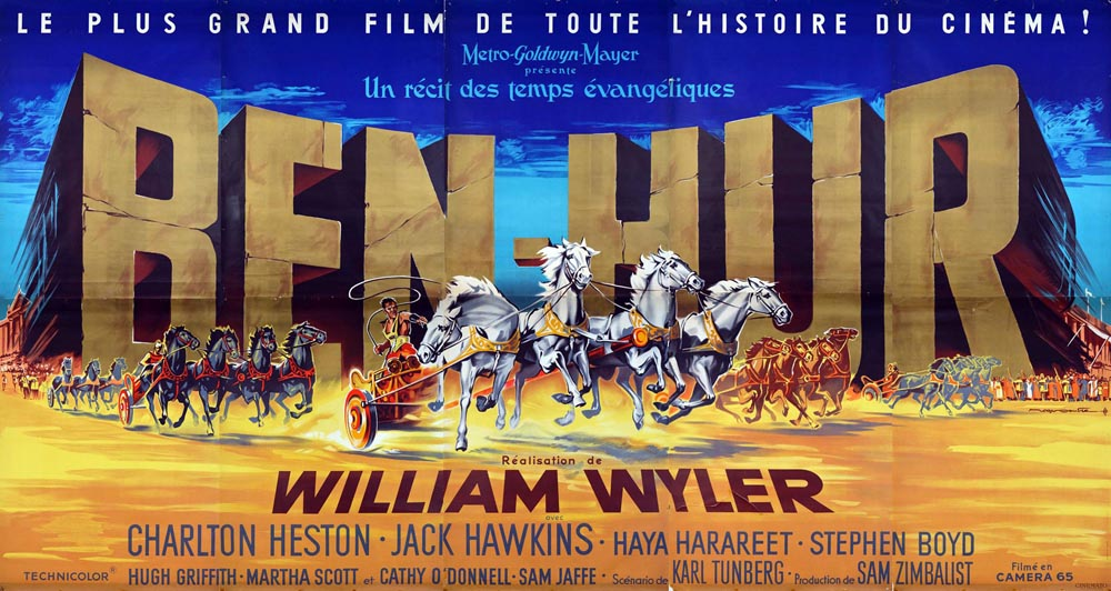 Ben Hur by William Wyler