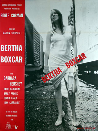 Boxcar Bertha by Martin Scorcese (47 x 63 in)