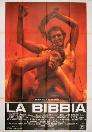 Bibbia (la) by John Huston (55 x 78 in)