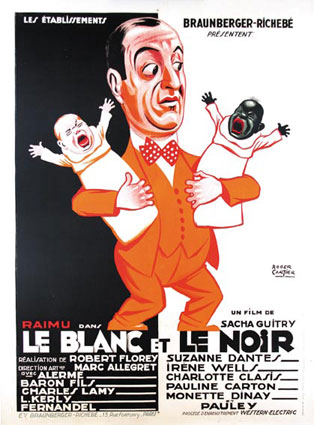 Blanc Et Le Noir (le) by Sacha Guitry