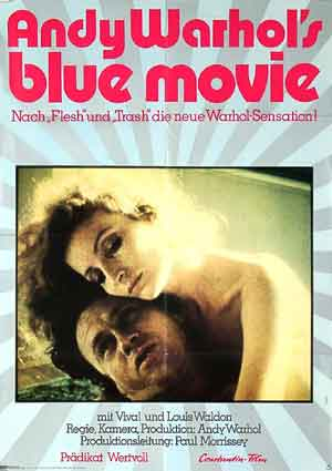 Blue Movie by Andy Warhol