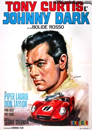 Johnny Dark by George Sherman (39 x 55 in)
