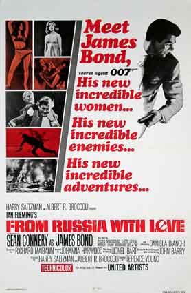 From Russia With Love  R-70 by Terence Young