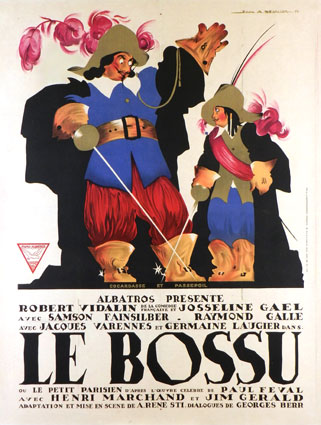 Bossu (le) by Rene Sti (47 x 63 in)
