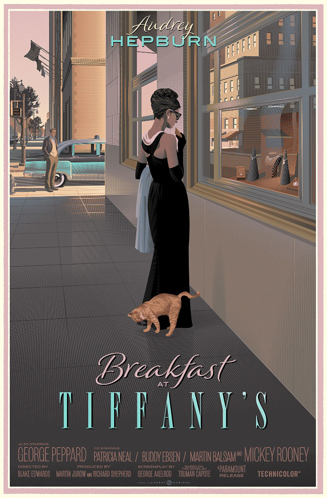 Breakfast At Tiffany's - No Shipping To People's Republic Of China For This Print by Blake Edwards (24 x 36 in)