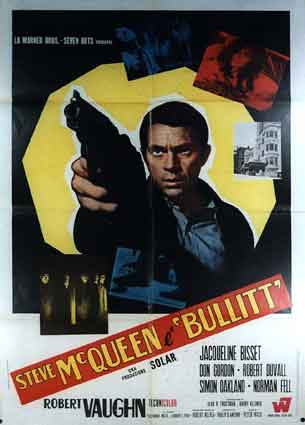 Bullitt by Peter Yates (39 x 55 in)