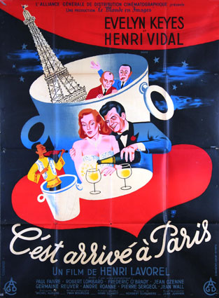 C'est Arrive A Paris by Henri Lavorel