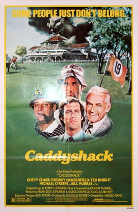 Caddyshack by Harold Ramis (27 x 41 in)