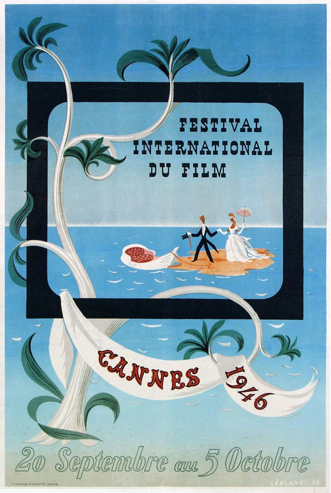Festival De Cannes 1946 by -