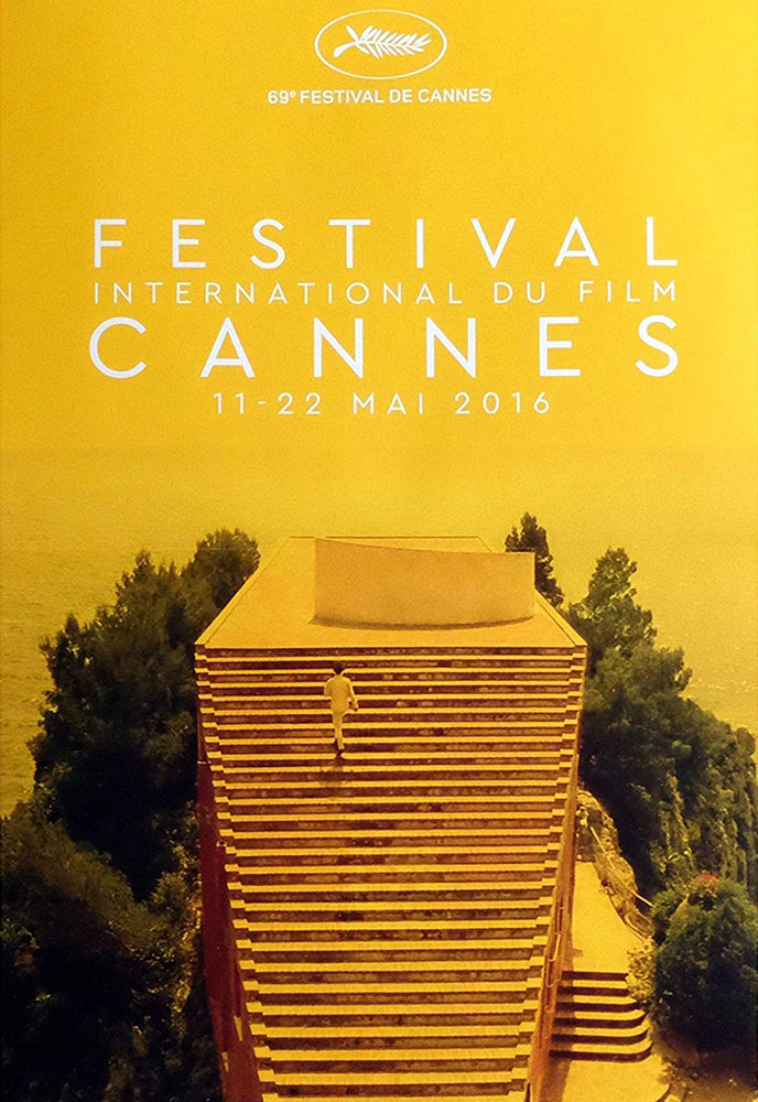 Festival De Cannes 2016 by - (23 x 33 in)