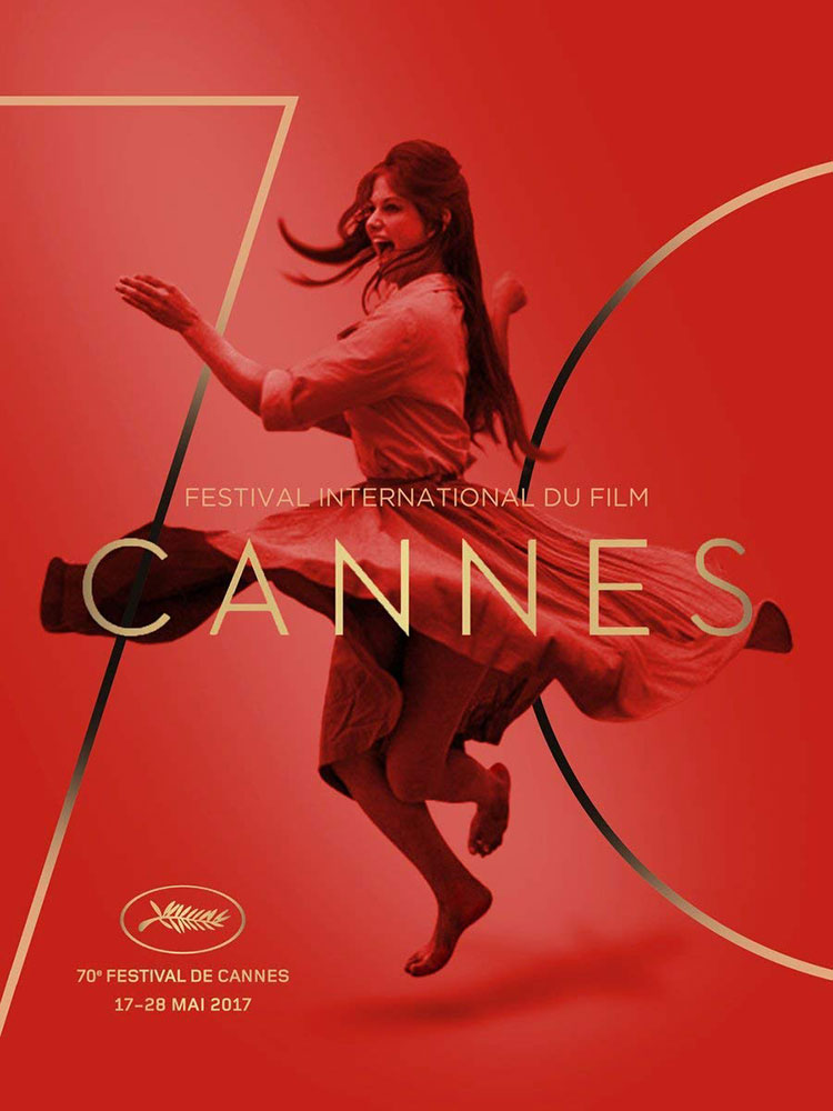 Festival De Cannes 2017 by - (23 x 33 in)
