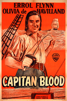 Capitaine Blood par Michael Curtiz ()