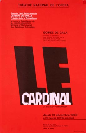 Cardinal (the) by Otto Preminger (12 x 17 in)