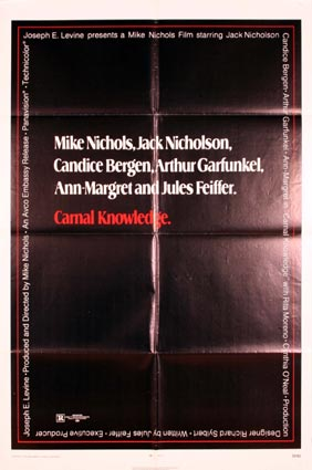 Carnal Knowledge by Mike Nichols (27 x 41 in)