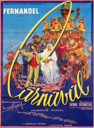 Carnaval by Henri Verneuil (47 x 63 in)