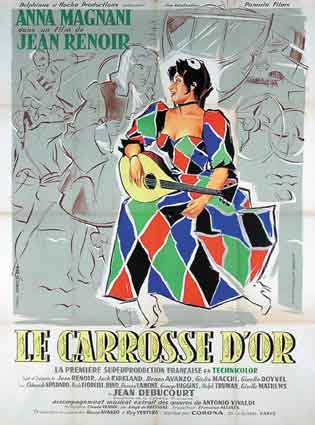 Carosse D'or (le) by Jean Renoir (47 x 63 in)