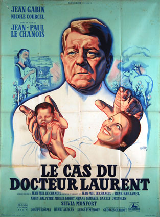 Cas Du Docteur Laurent (le) par Jean Paul Le Chanois