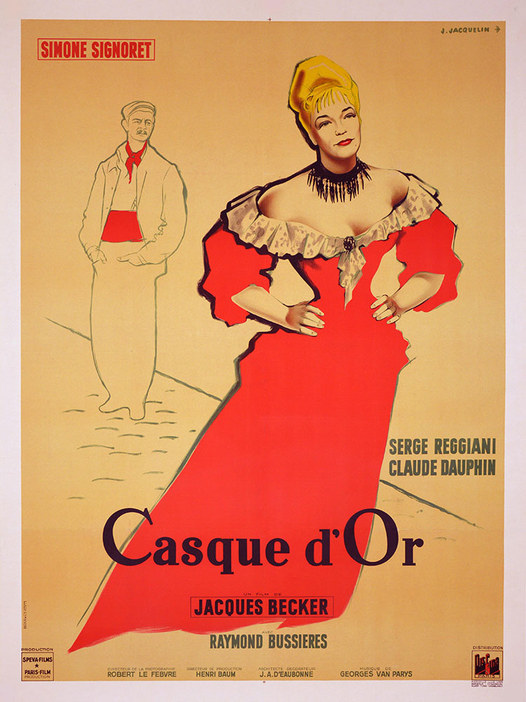 Casque D'or by Jacques Becker (47 x 63 in)