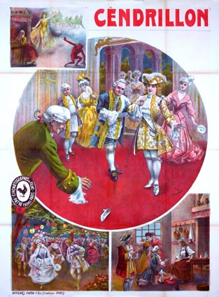 Cendrillon by - (47 x 63 in)
