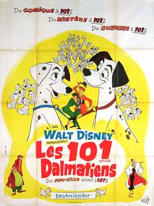 ONE HUNDRED AND ONE DALMATIANS (the)