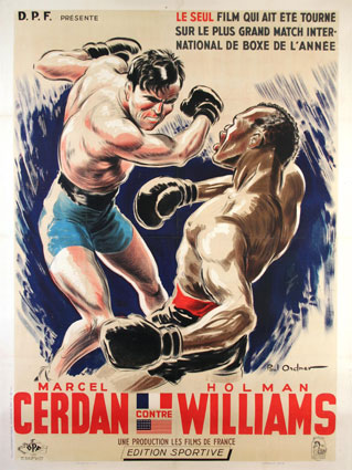 MARCEL CERDAN CONTRE HOLMAN WILLIAMS