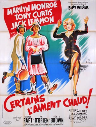 Certains L'aiment Chaud par Billy Wilder