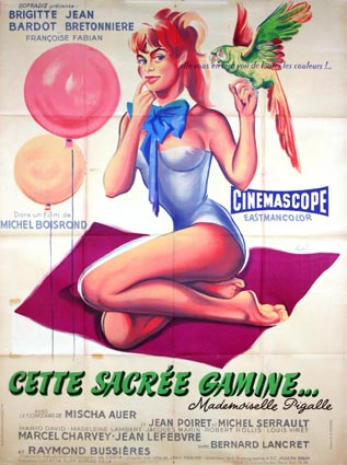 Cette Sacree Gamine by Michel Boisrond