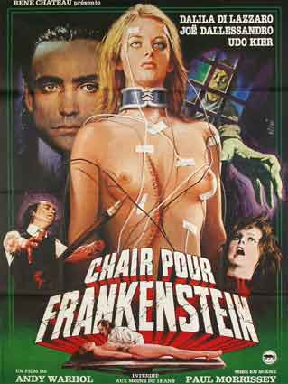 CHAIR POUR FRANKENSTEIN (R)