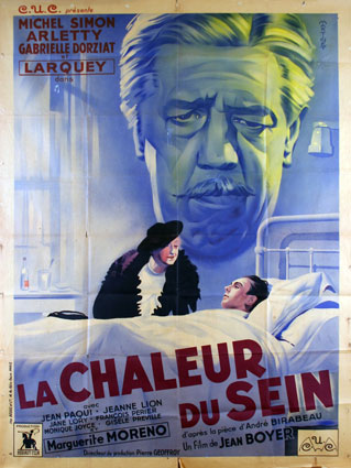 Chaleur Du Sein (la) by Jean Boyer (47 x 63 in)