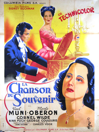 A Song To Remember by Charles Vidor (47 x 63 in)